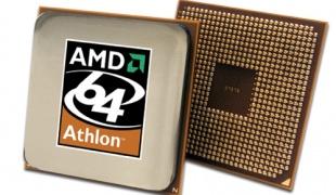 Как разогнать процессор amd athlon.