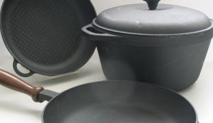 Как отмыть гарь от сковородки  871_1333275915_a7e97