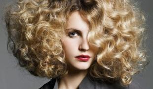 Бывают виды химической завивки волос